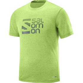 Salomon Explore Graphic - Camiseta manga corta Hombre - verde